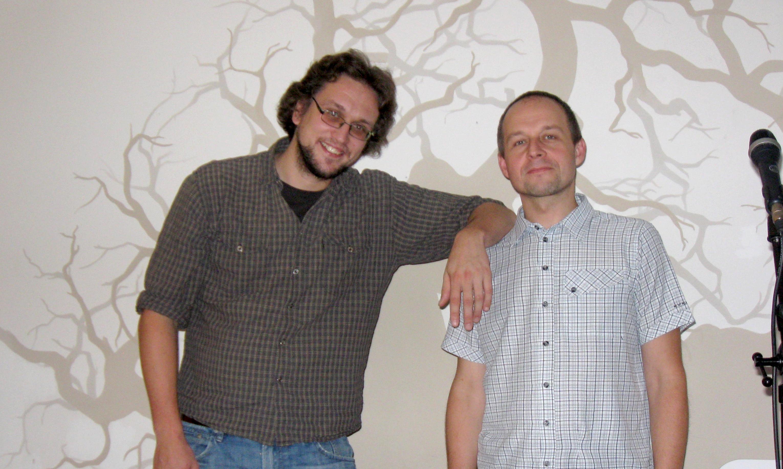 Jakub Pavlíček a Jan Ostrov - Open Mic v kavárně Dadap Praha