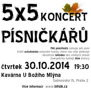 5x5 | Koncert písničkářů
