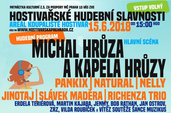 Festival Přehrada Hostivař 2018
